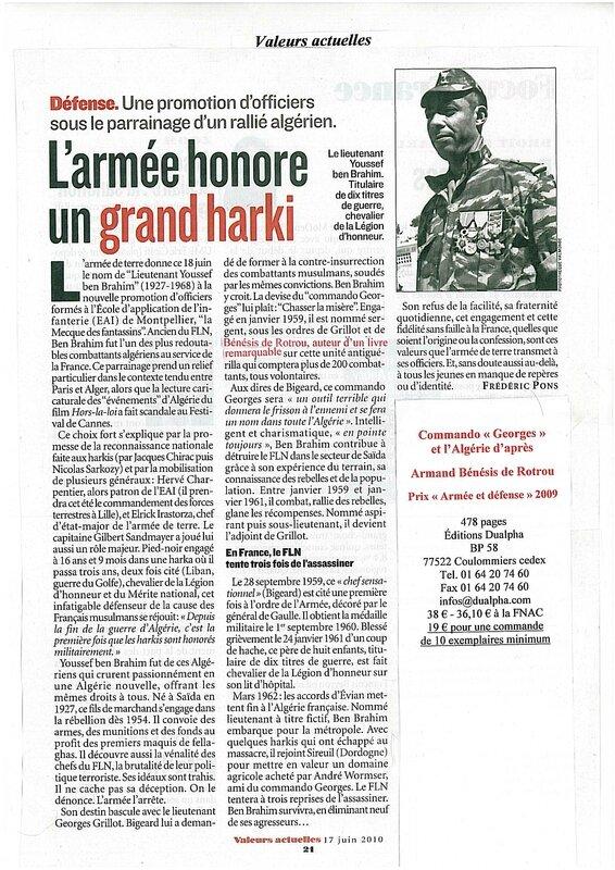 Lieutenant Youssef Ben Brahim 17-06-2010
