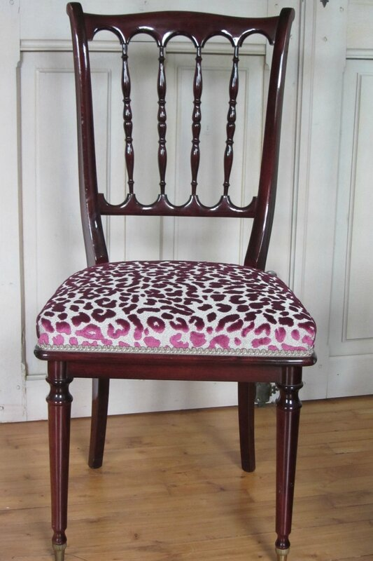 chaise à retapisser côté sièges à Brest