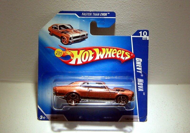 Chevrolet chevi nova de 1968 (Hotwheels)