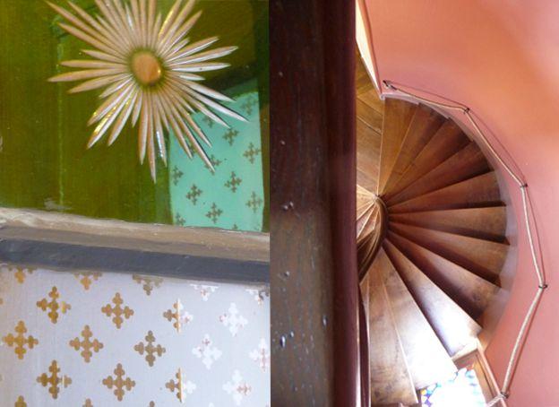 escalier vitre