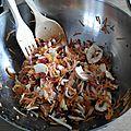 Salade de quinoa (qui déchire)