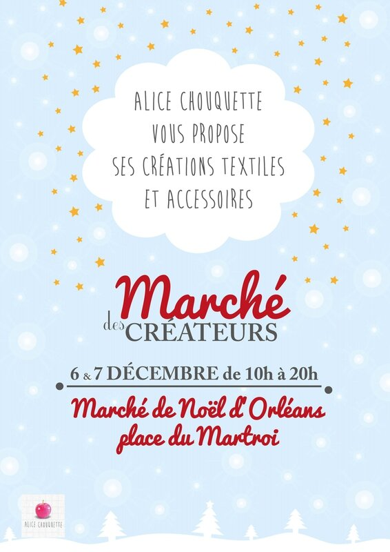Affiche Alice chouquette - noel 2014 -V2