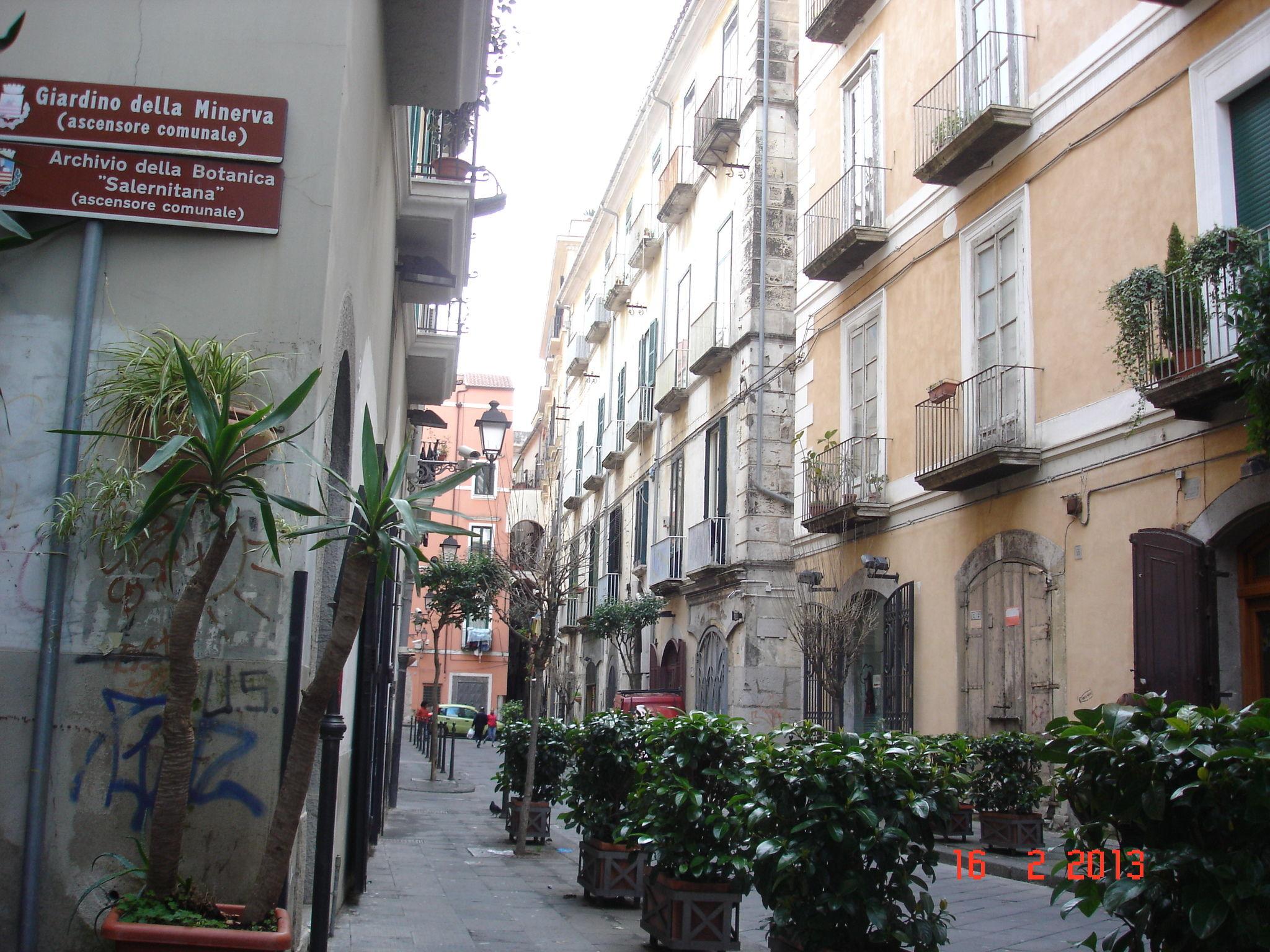 Une rue de salerne
