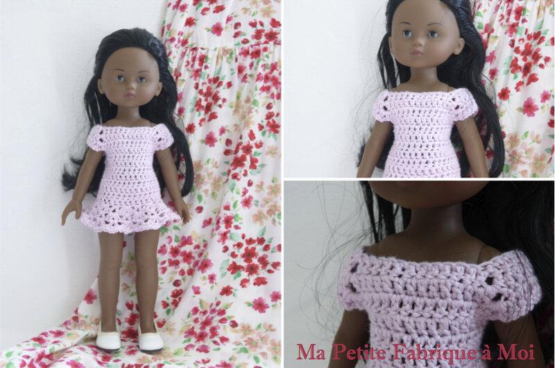 Petite robe au crochet