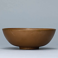 A Dangyangyu russet-brown glazed bowl, Northern Song dynasty (960-1127)