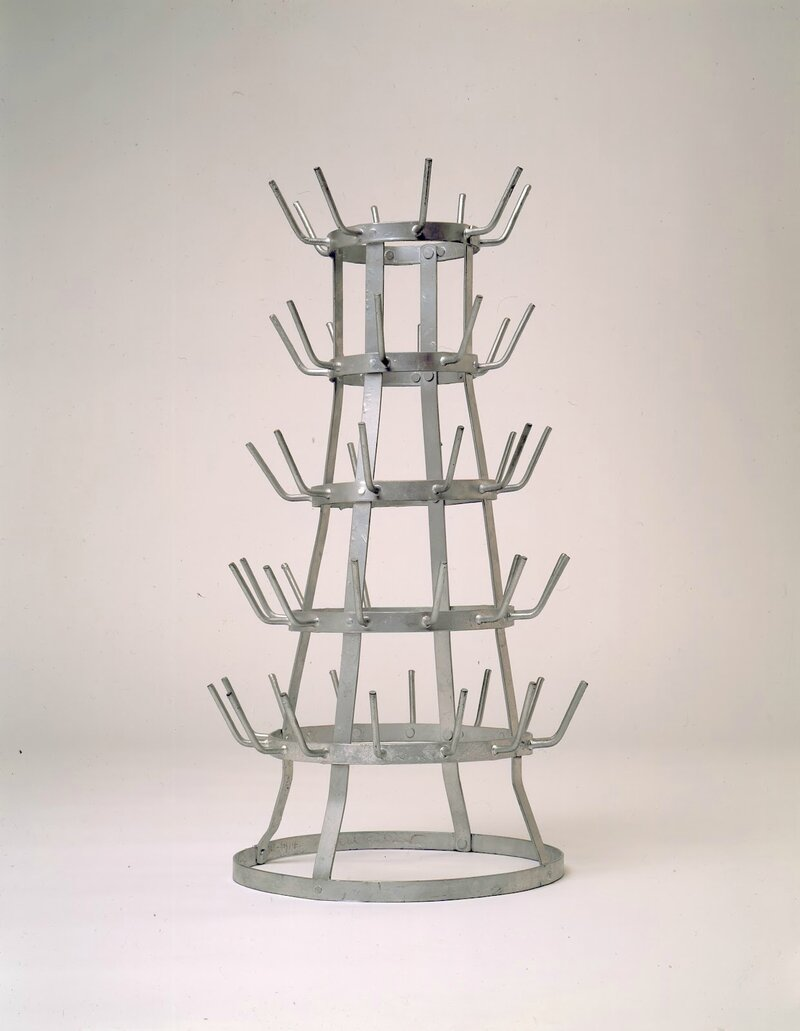Duchamp - Porte-bouteille