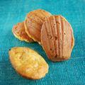Madeleines carottes roquefort