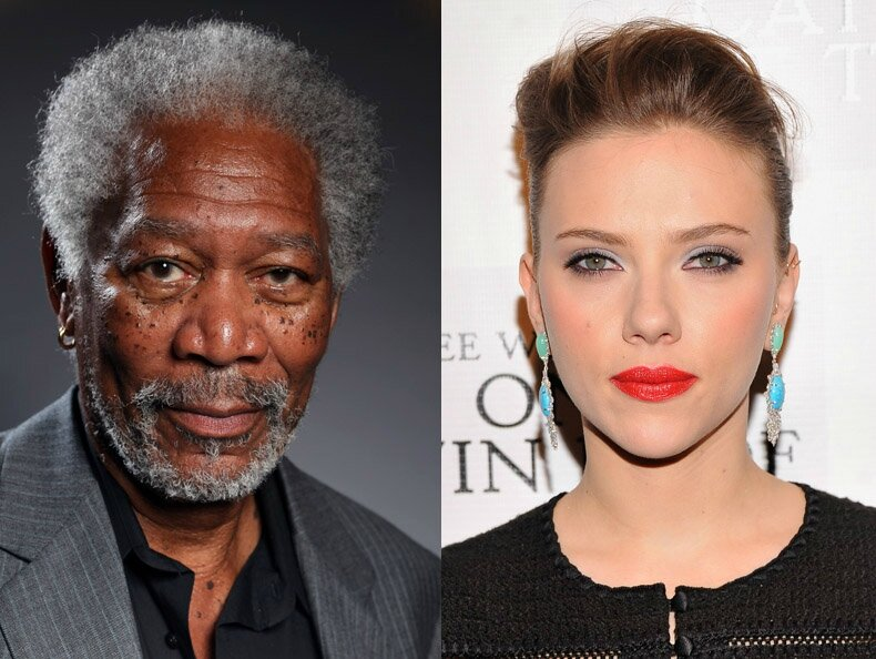 Morgan-Freeman-and-Scarlett-Johansson