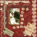 Page de garde de mon album mariage