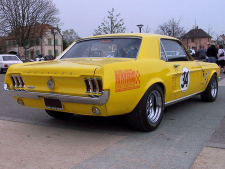 FORD Mustang Hardtop Coupe 1967 Bourse Echanges Auto Moto de Chatenois 2009 2