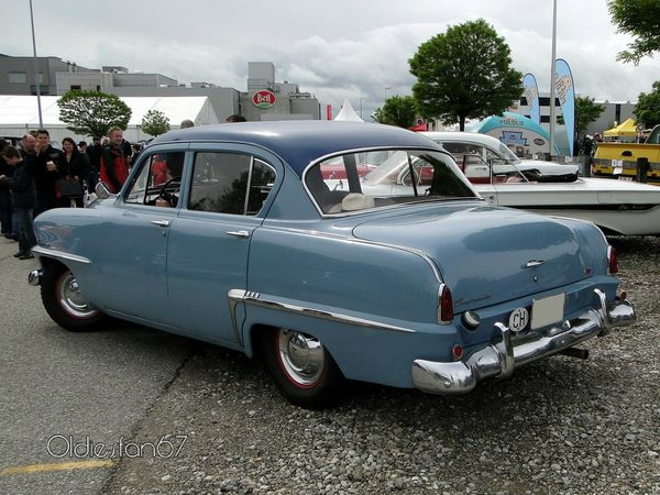 plymouth cranbrook 4door sedan 1953 b