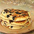 Pancakes aux myrtilles