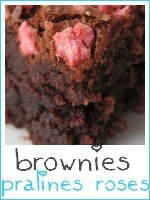 brownies aux pralines roses - index