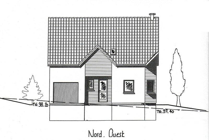 Plan de la maison - ma maison en bois