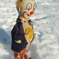 Clown à la neige