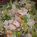 Salade Romaine au Poulet Marin
