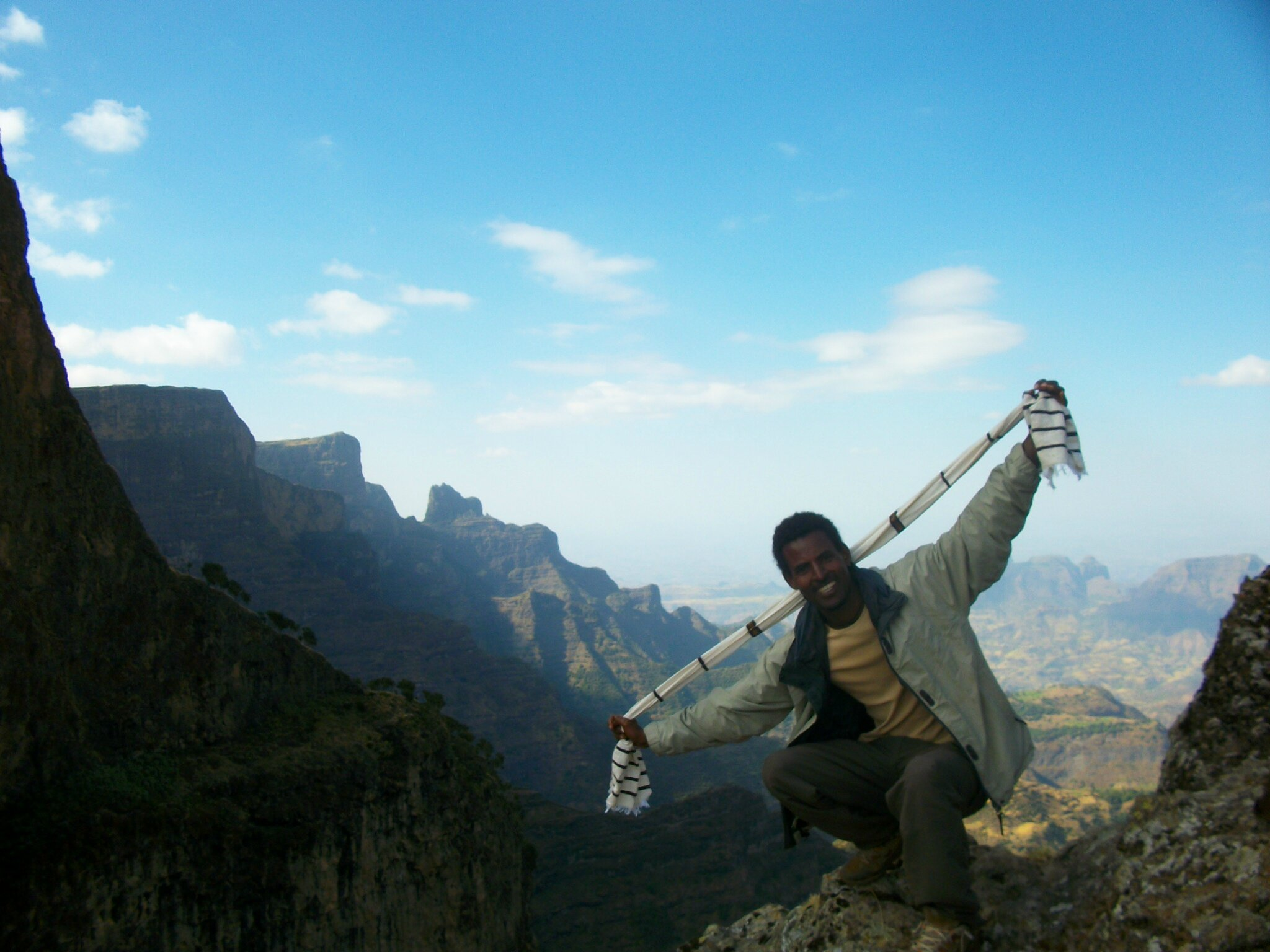 mearg in the simien trekking