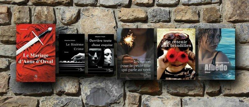6 romans Sébastien Fritsch