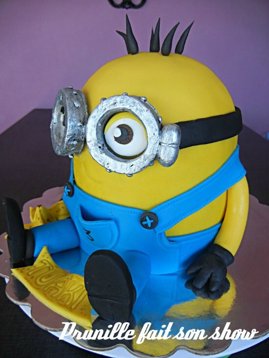 gateau minion prunillefee 4