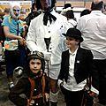 Famille steampunk