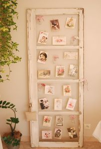 P le m le shabby romantic for Decoration vieille fenetre