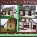 gite à St Martin de Fresnay
