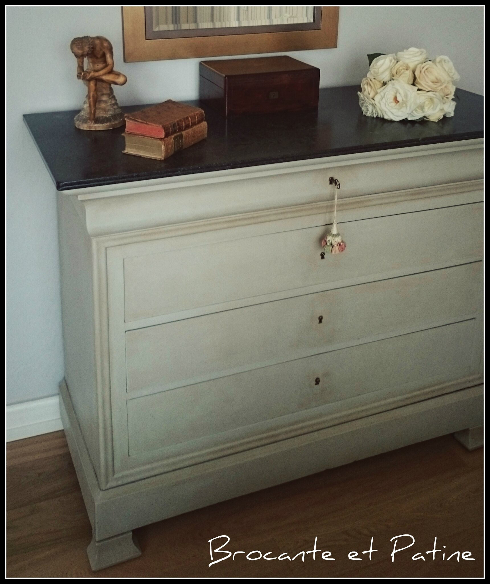 Commode odile brocante et patine - Commode a peindre ...