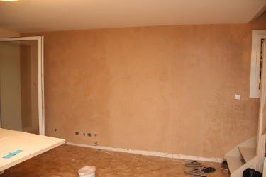 Vingt quatri me jour peinture l 39 argile suite on for Peinture murale couleur sable