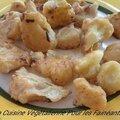 Beignets de chou fleur (sans gluten)