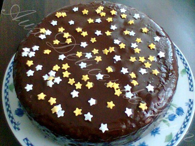 Mon gâteau marbré aux étoiles