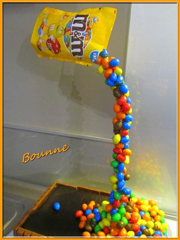 Gravity cake ou gâteau suspendu (1)