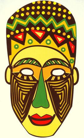 masque africain carnaval