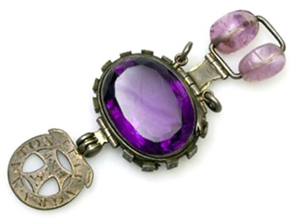 The Delhi Purple Sapphire or The Cursed Amethyst
