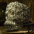 Subodh Gupta, Very Hungry God, 2006, Eglise Saint-Bernard, © Marc Domage.