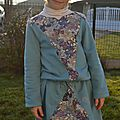 Robe musicale- her little world