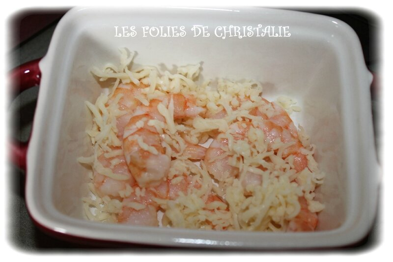 Crevettes à la crème 1