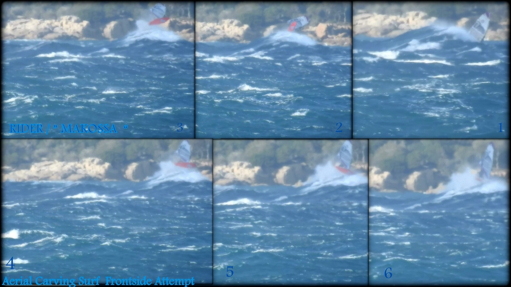 CARVING SURF INTO AERIAL ! ...