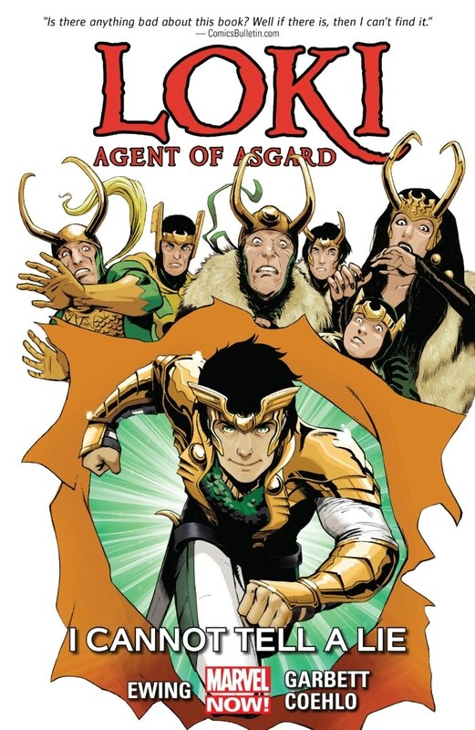 loki agent of asgard vol 02 I cannot tell a lie TP