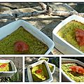Petits flans courgettes jambon