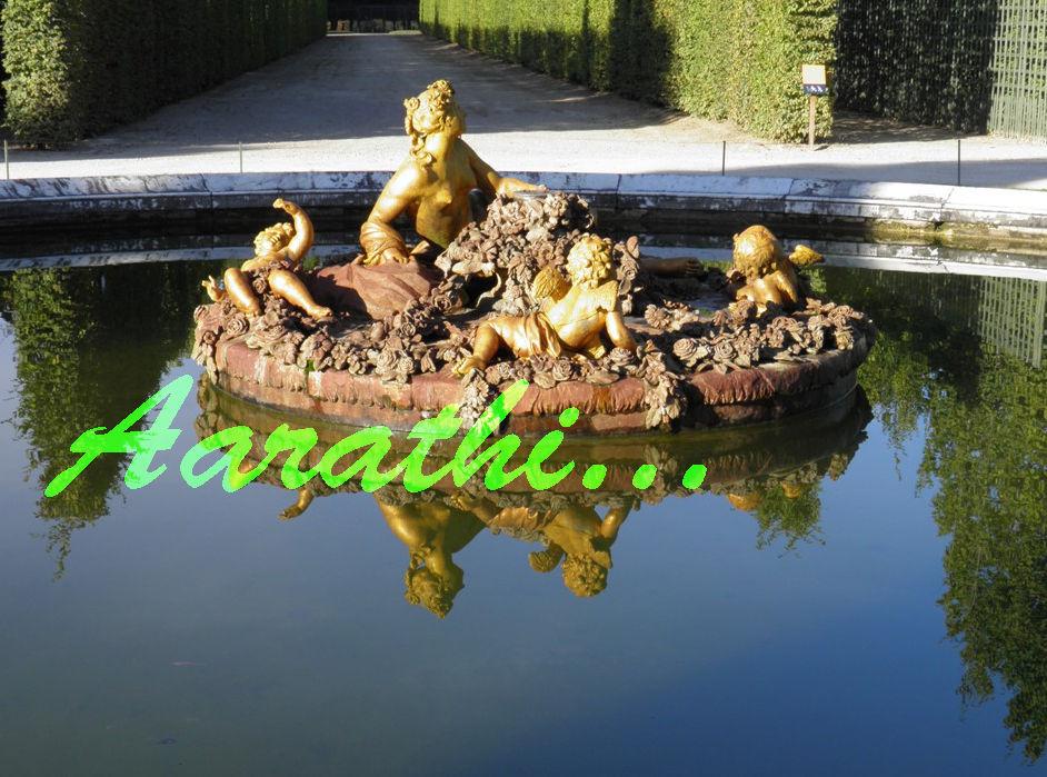 Flora / Spring Fountain, Versailles.