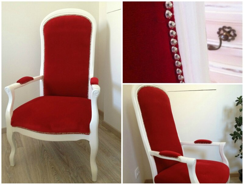 fauteuil rouge 1