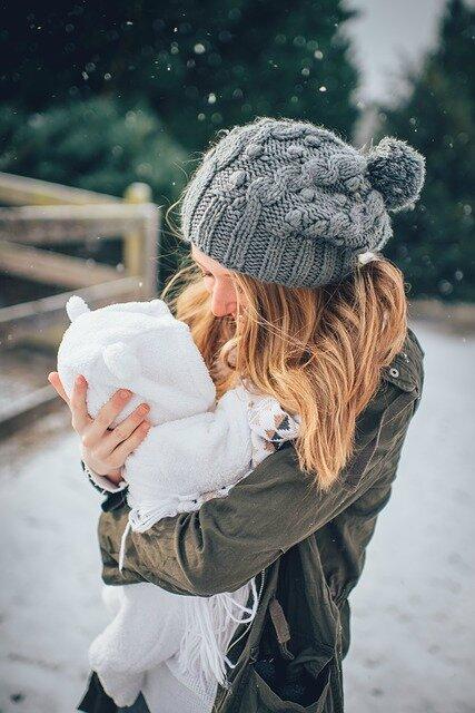bebe-maman-hiver