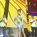 Jolin at superstar countdown concert in guangzhou