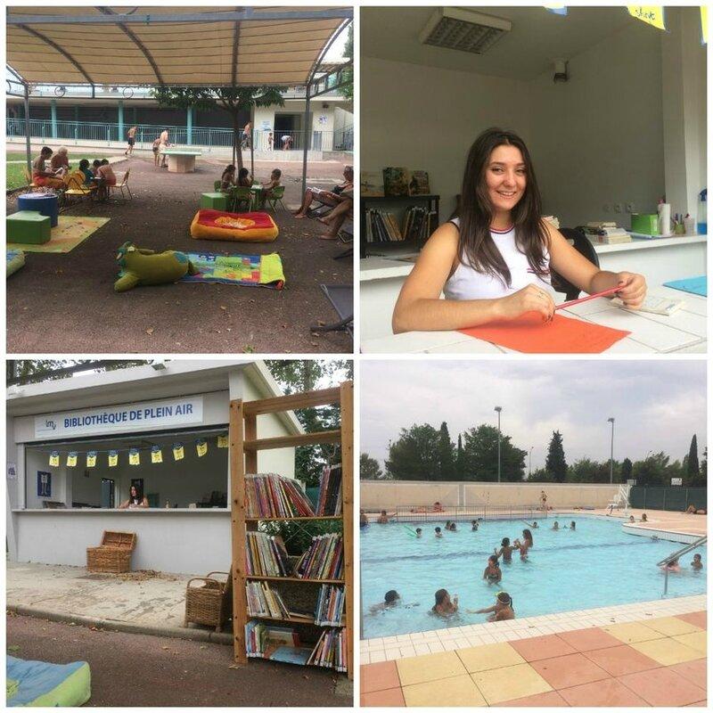 bibliothèque piscine Cavaillon
