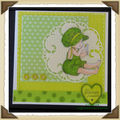 2011 - Carte enfant verte