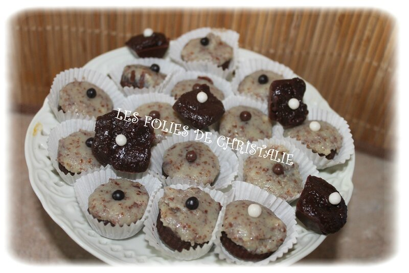 Bouchées 3 chocolats 14