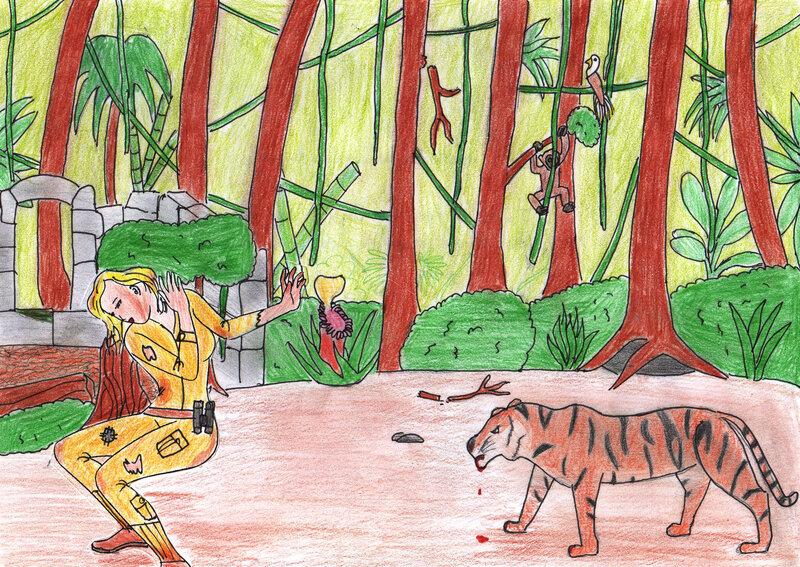 L'aventurère perdue ds la jungle