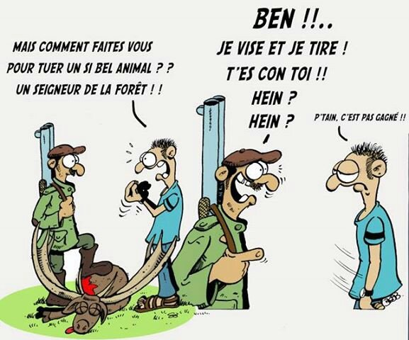 chasse comment