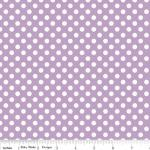 riley blake small-dots-lavendar