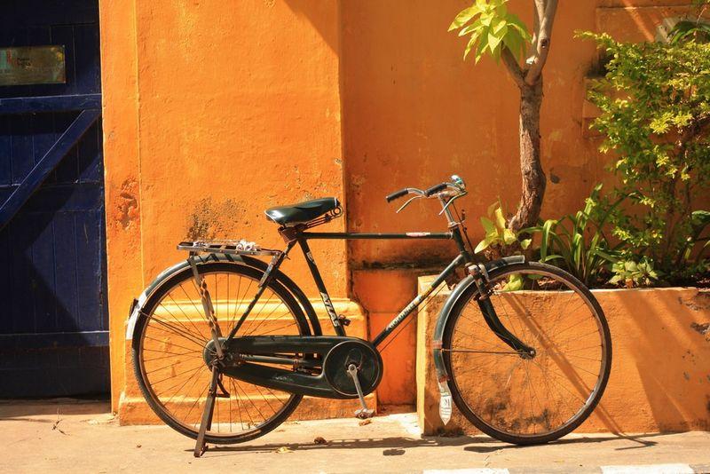 Vélo à Pondy